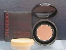 Shiseido Compact Foundation P4 Natural Fair Pink 0.03 oz Sample Size New