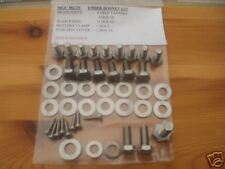 MGF MGTF tf STAINLESS steel UNDER BONNET HEX SCREWS bolts KIT 1 A+