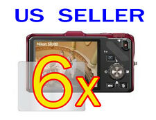 6x Nikon COOLPIX S9300 S9200 Camera LCD Screen Protector Guard Shield Film