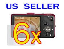 6x Nikon COOLPIX S9300 S9200 Camera LCD Screen Protector Guard Shield Film
