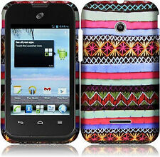 Huawei Glory H868C Rubberized HARD Protector Case Phone Cover Indian Pattern