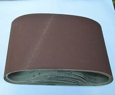 "10 Pr0 Cloth Floor Sanding Belt 7-7/8""x29-1/2 120 grit Drum Sander Sandpaper"
