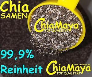 Chia Samen 1-5kg Chiasamen Nahrungsergänzung Ballaststoffe Eiweiß vegan Low Carb
