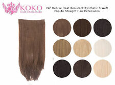 Weft Synthetic Straight Hair Extensions