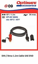 OPTIMATE.. No9 Din to SAE Extension Cable  1.2m Long BMW, CAN BUS