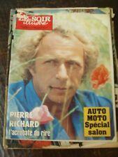 Le Soir Illustré 12/1/1984 Pierre Richard - Auto-Moto Spécial Salon -Jean Marais