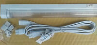6w LED undercabinet light warm white 240v 578mm long  Switch Lead & link cable