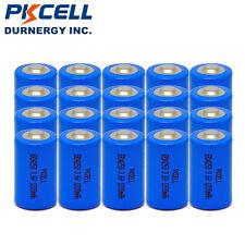 20x ER14250 LS14250 1/2AA 3.6V Lihtium LI-SOCl2 1/2-AA Batteries 1200mAh PKCELL