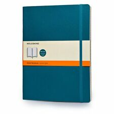 Moleskine Soft Extra Large Underwater Blue Ruled Notebook 9788867323753