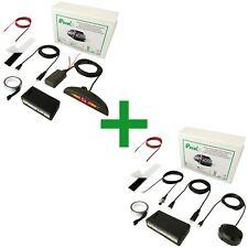 Sensor de aparcamiento electromagnetico invisible Delantero + Trasero Wireless.