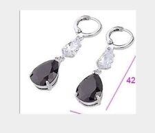 Pear White Gold Filled Drop/Dangle Fine Earrings