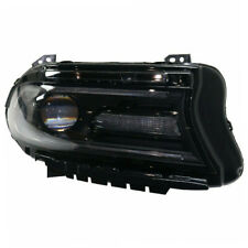 15-17 Charger Front Headlight Headlamp Halogen Head Light Lamp w/LED Right Side
