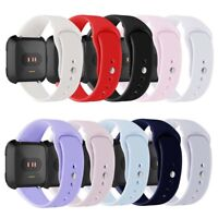 EB_ Sport Solid Silicone Smart Watch Band Strap Bracelet for Fitbit Versa Reliab