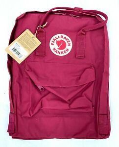 Fjallraven, Kanken Classic Backpack for Everyday, Plum