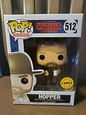 HOPPER Funko Pop Television - #512 Stranger Things - Limited Edition CHASE - NEW
