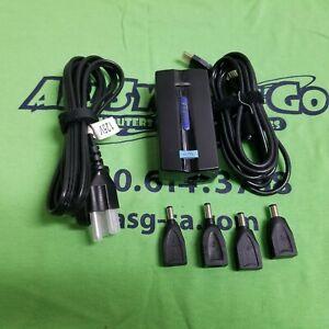 TARGUS APA10 UNIVERSAL LAPTOP CHARGER 65W - 800-0111-001A - TIPS 2 3 4 6