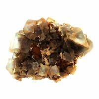 Fluorit. 89.0 Ct. Okorusu Mine, Otjiwarongo Bezirk, Namibia