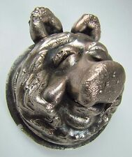 Vintage Miss Piggy Muppets Original Industrial Metal Toy Making Mold figural pig