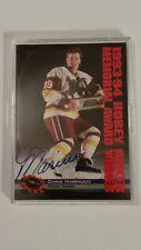 1994-95 Classic Hockey Autographed Card- Chris Marinucci- New York Islanders