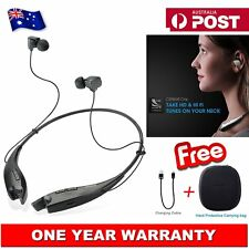 Mpow Bluetooth Headphones Wireless Neckband Headset Earphone With Carrying Bag