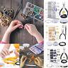 Jewelry Making Supplies Kit -Repair Tools w/Accessories Pliers Findings Beading