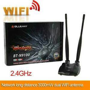 Wireless USB Wifi Adapter Network Card Receiver for PC 150mbps 5dbi High Power