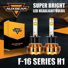 Auxbeam F-16 Series H1 60W 6000LM Beam LED Headlight Bulbs 6000K Conversion Kit