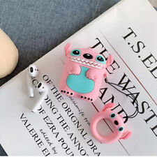 Silicone Cover Protective Case Apple Airpods GEN 1 2 Earpods Angel Cartoon