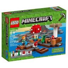 LEGO® Minecraft The Mushroom Island 21129