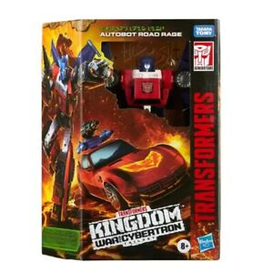 HASBRO Transformers KINGDOM WAR FOR CYBERTRON DELUXE CLASS [ROAD RAGE] in stock