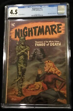 1954 St. John Nightmare #11 CGC 4.5 Off White to White Pages