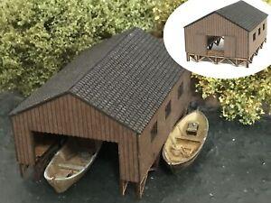 MU N-H00169 - Bootshaus - Spur N - NEU