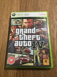 Grand Theft Auto IV GTA 4 Xbox 360. COMPLETE WITH MAP AND MANUAL