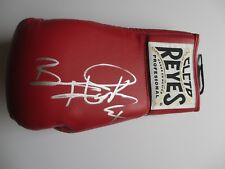 BERNARD HOPKINS SIGNED CLETO REYES BOXING GLOVE DC/COA (EXECUTIONER)