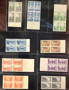 SCOTT #756-65 (No 763) 9 ARROW BLOCKS, VF+, NGAI, NH, CAT $75-FRESH! -APS MEMBER