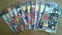 WIZARD COMICS MAGAZINES of 2003, specific covers shown