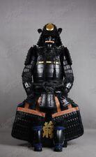 Iron & Silk Japanese wearable Rüstung Samurai Armor Black Warrior