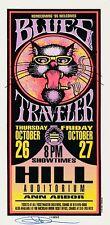 Mint & Signed Blues Traveler 1995 Ann Arbor Arminski Handbill