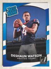 2017 Donruss DeShaun Watson RC Rated Rookie Card Houston Texans