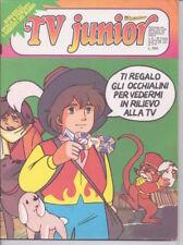 TV JUNIOR 1979 n.31 magazine giornalino Remì, Pooh, Panatta, Big Jim, Goldrake