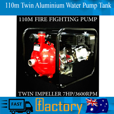 Collection 7.0hp 110m Twin Aluminium Impeller Hearth Preventing Water Pump Tank