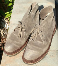 Clarks Originals Mens Desert Guard Chukka Boots Shoes Taupe Suede 62132 Size 11M