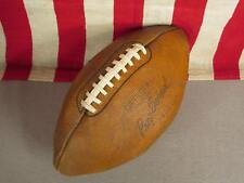 Vintage 1940s Prep School Leather Official Football w/ Laces G3211 Model Display