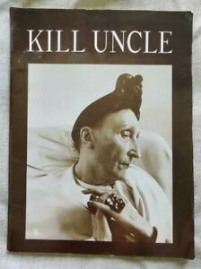 Morrissey Kill Uncle 1991 Tour Book USA - The Smiths.  Official merch