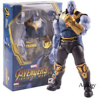 SHF Avengers Infinity War Thanos Figure PVC Action Figure Marvel Collectible Toy