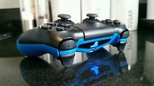 PS4 PS3 ELITE PRO COMPETITION RAPID FIRE MOD CONTROLLER WITH BLUE COATED GRIP