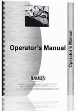 Operators Manual Oliver 80 60 Cletrac Crawler