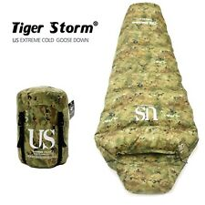 US Extreme Cold Winter High Quality Goose Down Camping Outdoor Sleeping Bag