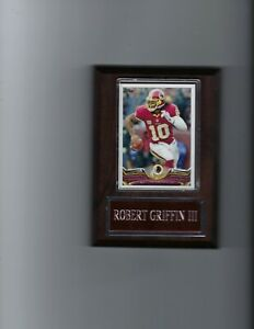 ROBERT GRIFFIN III PLAQUE WASHINGTON REDSKINS FOOTBALL NFL   C