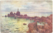 "La Corbiere Lighthouse,Jersey (R.Tuck ""Oilette""7319,-Art.Signed-Wimbush)"